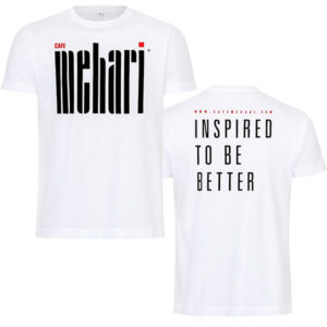 T-Shirt MEHARI Herren Vor- und Rückansicht