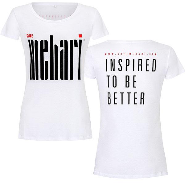 Tshirt MEHARI Damen Vor- und Rückansicht